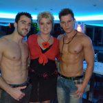 Stripteaseurs Luxembourg Mathéo et Dylan