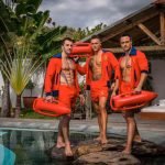 Stripteaseurs Luxembourg Mathéo, Tyler, Bryan