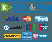 Paiement sécurisé Klik & Pay